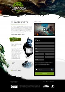 GuildWars2 Online Sweepstakes